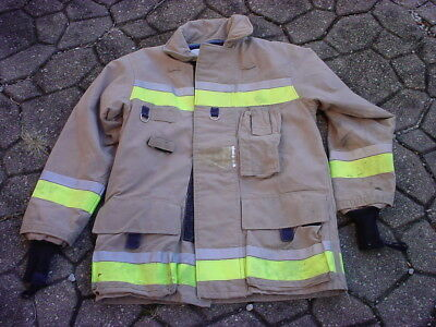 Bristol New Old Stock Turnout Coat Fireman Firefighter Fire Dept 40