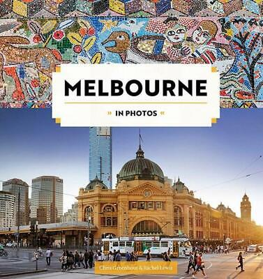 Melbourne in Photos by Chris Groenhout Hardcover Book Free Shipping!