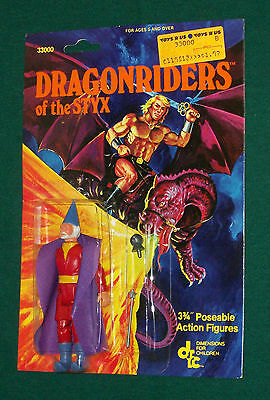 vintage Dragonriders of the Styx THE WIZARD MOC Dragon Riders