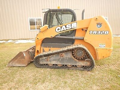 2014 Case Tr320 Track Loader Skid Steer With Cab, Ac, Heat, High Flow 1838 Hours
