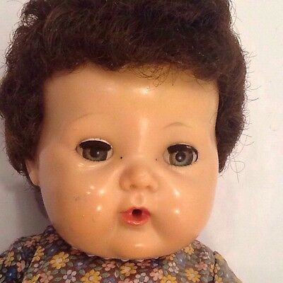 """Vintage American Character 15"""" Tiny Tears~Drink/wet Doll~"""