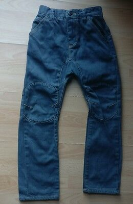 Next Boys Denim Jeans Trousers Tapered Greyish Blue Colour  Age 7 Years 122Cm