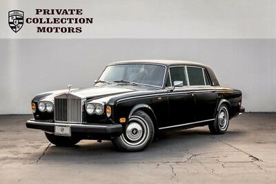 1979 Rolls-Royce Silver Seraph  1979 Rolls-Royce Silver Wraith ll Fully Serviced at Rolls Dealer