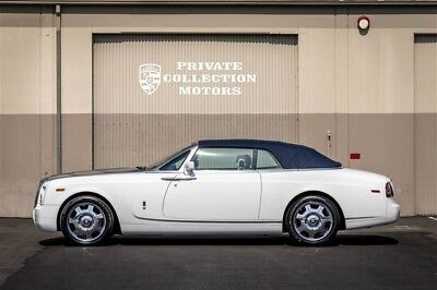 2008 Rolls-Royce Phantom Drophead Coupe Convertible 2-Door 2008 Rolls Royce Phantom Drophead Low Miles Clean Carfax