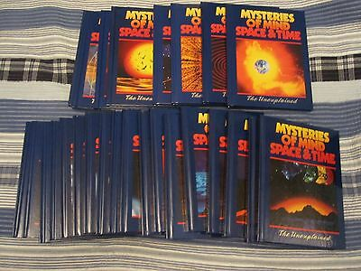Unexplained Mysteries of Mind Space & Time 26 HC books volumes UFO Bigfoot GHOST