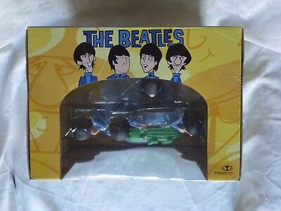 MCFARLANE BEATLES Saturday Morning Cartoon Deluxe Box Set with Crocodile 2004