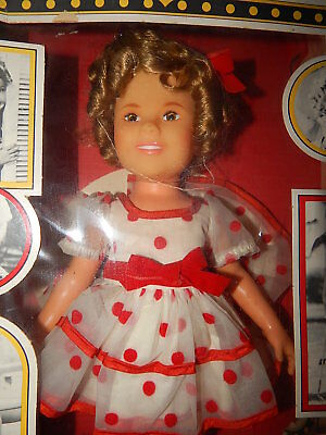 1973 Ideal Now Appearing Shirley Temple Doll New Boxed