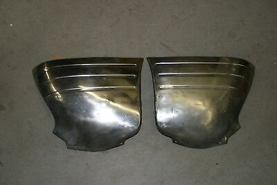 1951-1952 Chevrolet Gravel Stone Rock Guards Shields Coupe Sedan Bomb Lowrider