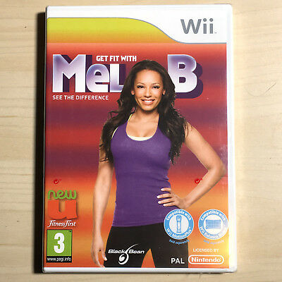 Get Fit With Mel B (Nintendo Wii) PAL New Sealed Video Game