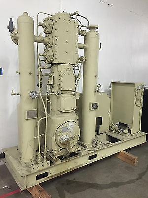 Ingersoll Rand ESV-P-NL BSTR Reciprocating Air Compressor