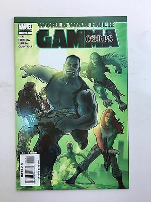 World War Hulk: Gamma Corps #1 (Sep 2007, Marvel)