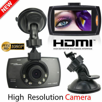 "US 1080P 2.4"" Full HD LCD Car Dash Camera Video DVR Cam Recorder Night Vision SE"
