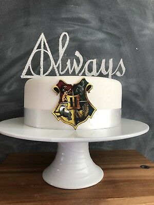 Harry Potter House Crest Edible Decorations Icing Sheet