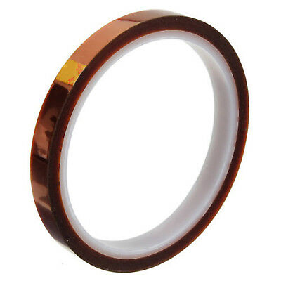 10mm 33m 100ft Kapton Tape High Temperature Heat Resistant AIP