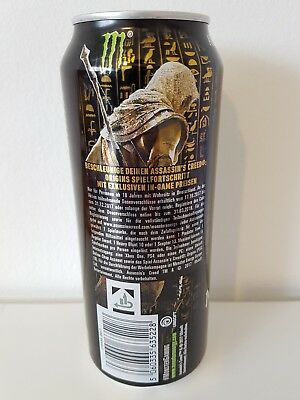 ASSASSIN'S CREED ORIGINS Monster Energy Promotion Code - PC PS4 XBOX *Limitiert*