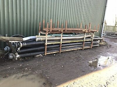 "6"" solid  Delivery pipes/ Hose, 6metre Lengths"
