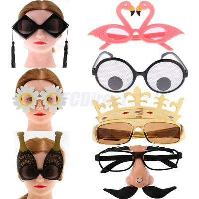 Fun Birthday New Year Party Glasses Props Kids Adults Party Festival Sunglasses