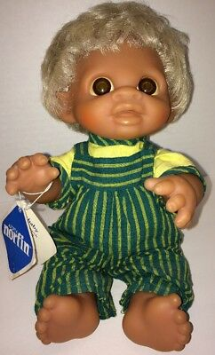Norfin Baby Boy Anatomically Correct Dam Troll Vintage w/Tag Vinyl Jointed 11""