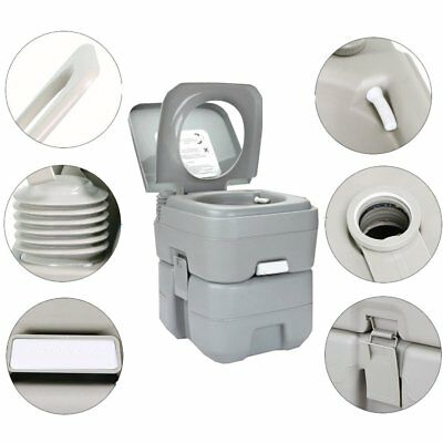 10L/20L Portable Potty Lightweight Flush Travel Outdoor Potty for Camping Travel