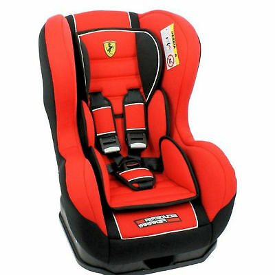 New Nania Cosmo Sp Ferrari Group 0 1 Baby Car Seat Childs Carseat 0-18Kg