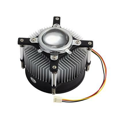 LED Heatsink Lens Fan and Thermal glue grease aquarium grow light DIY 10W - 50W