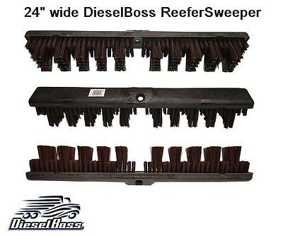 Refrigerated Trailer Broom for Truckers  Reefer Sweeper.  Made in USA