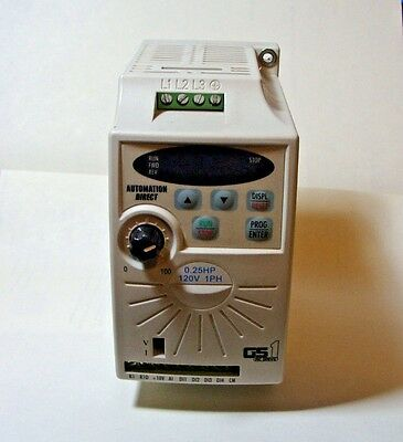 Automation Direct GS1-10P2 AC Micro Drive 0.25 HP 120V