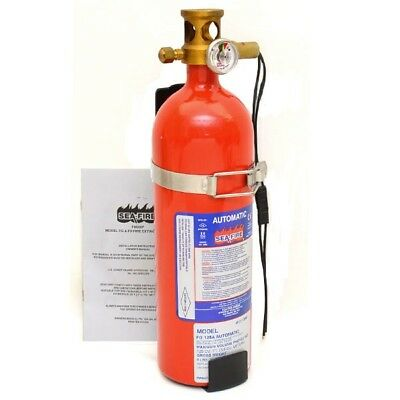Sea-Fire Boat Automatic Fire Extinguisher FG-125A | 125 Cubic Ft