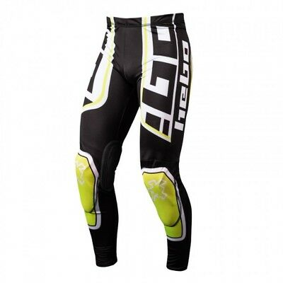 New 2018 Adult Hebo Race Pro 2 Trial Pants Yellow M L XL Trials Trousers