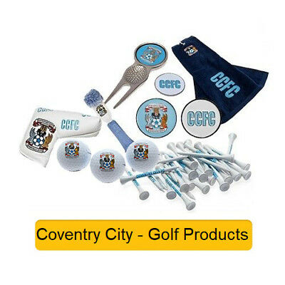 COVENTRY CITY- GOLF PROD - Official Football Merchandise (Gift, Xmas,Birthday)