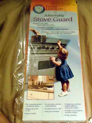 Adjustable Stove Safety Guard- Easy to Install NIB