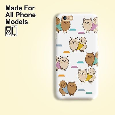 Pomeranian dog Phone Case for iPhone 8 8+ 7 7+ 6 Plus Galaxy S8 S7 edge Note 8 5