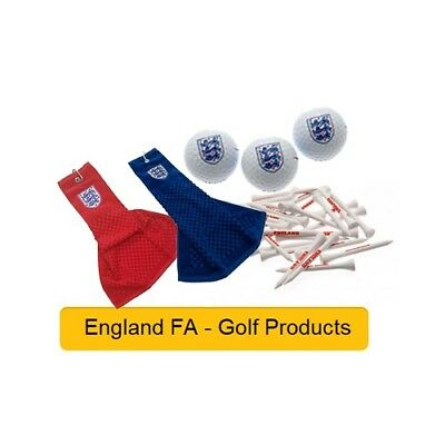 ENGLAND FA- GOLF PRODUCTS - Official Football Merchandise (Gift, Xmas,Birthday)