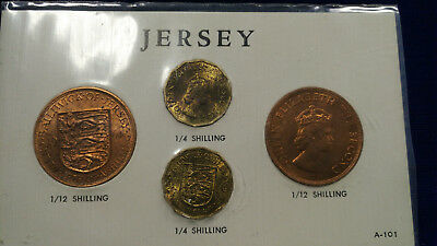 1964 Jersey Mint Set **NICE UNCIRCULATED COINS**