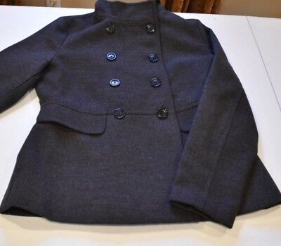 Women's Old Navy Gray Peacoat size M Excellent condition