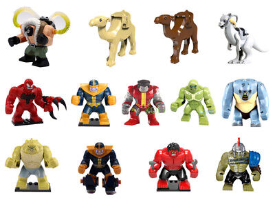 Bane Thanos Compatible Camel Hulk Toxin Colossus Minifigure Building Toys