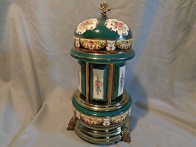 VINTAGE REUGE MUSIC BOX LIPSTICK CIGARETTES HOLDER SWISS MOVEMENT Italy