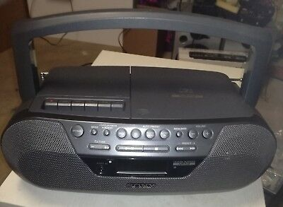 Sony CFD-S07CP Radio /CD(MP3)-Player /Kassettendeck  Tragbare Stereoanlage