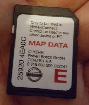 Nissan 25920 4Ea0C Connect3 Lcn2 Update Sd Card 2015-2016 Cars 2014 2015 2016