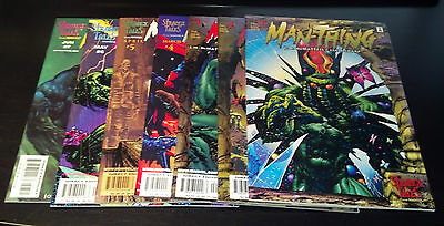 Manthing Set 1-7(9.4-9.6)(Nm To Nm+)Marvel-Strange Tales-Jm Dematteis
