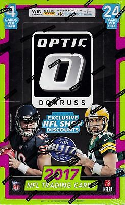 2017 Donruss Optic NFL Football SEALED 24-Pack RETAIL BOX Trading Cards