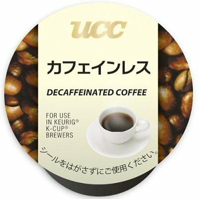 New Keurig Brewstar K-cup UCC decaffeinated coffee 8g x 12 pieces Made in Japan