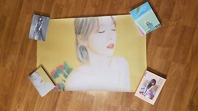 TAEYEON [ MY VOICE- FINE  VERSION ] - POSTER ONLY - SNSD - Girls' Generation