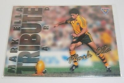 1995 Futera Rugby Union Tribute Card #TC1 Mark Ella