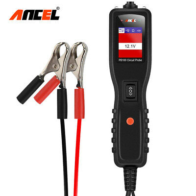 Automotive Circuit Tester Power Circuit Probe Kit - DC/AC Electrical Diagnostic
