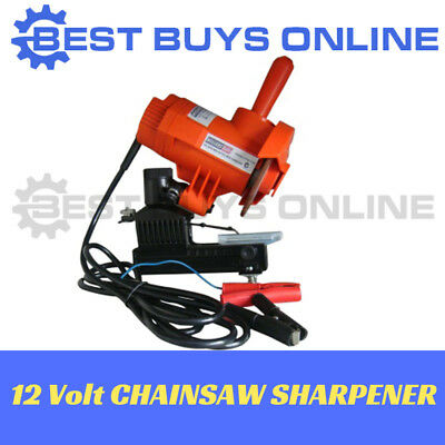 Portable Chainsaw Sharpener Electric Mounted Bar 12 Volt Chainsaw Grinder
