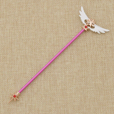 Anime Card Captor Sakura Kinomoto Magic Wing Wand Crystal Party Cosplay Decor