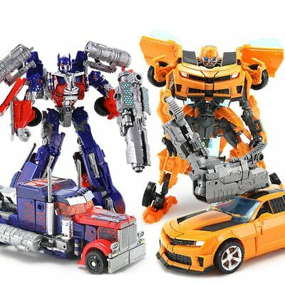 Dark of the Moon Transformers Autobots Optimus Prime Action Figures Robot Toy AU