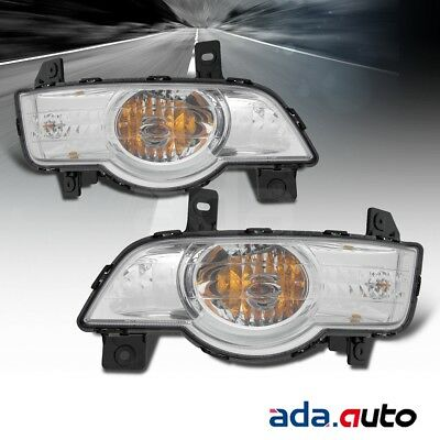 09-10 Traverse Left Right Side OE Signal Lights Lamps Pair