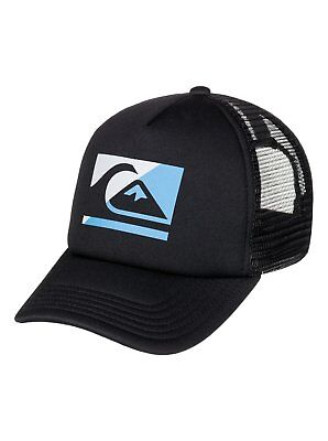 Quiksilver™ Step Off - Trucker Hat - Boys 2-7 - ONE SIZE - Black